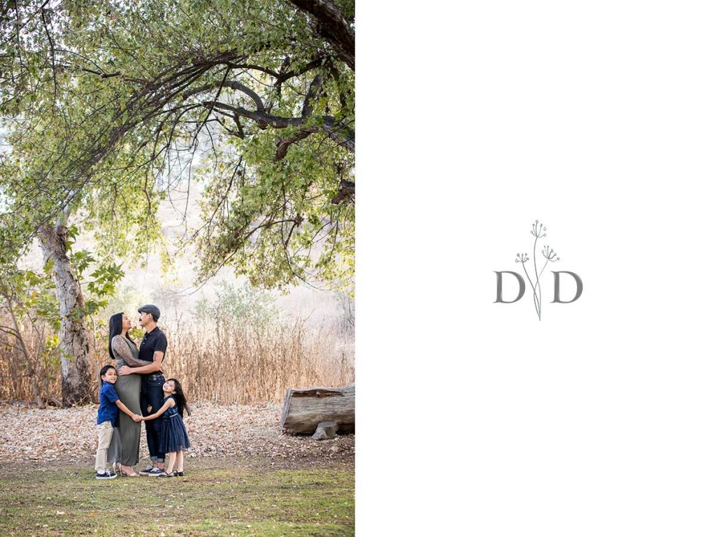 Family Photo under a Tree