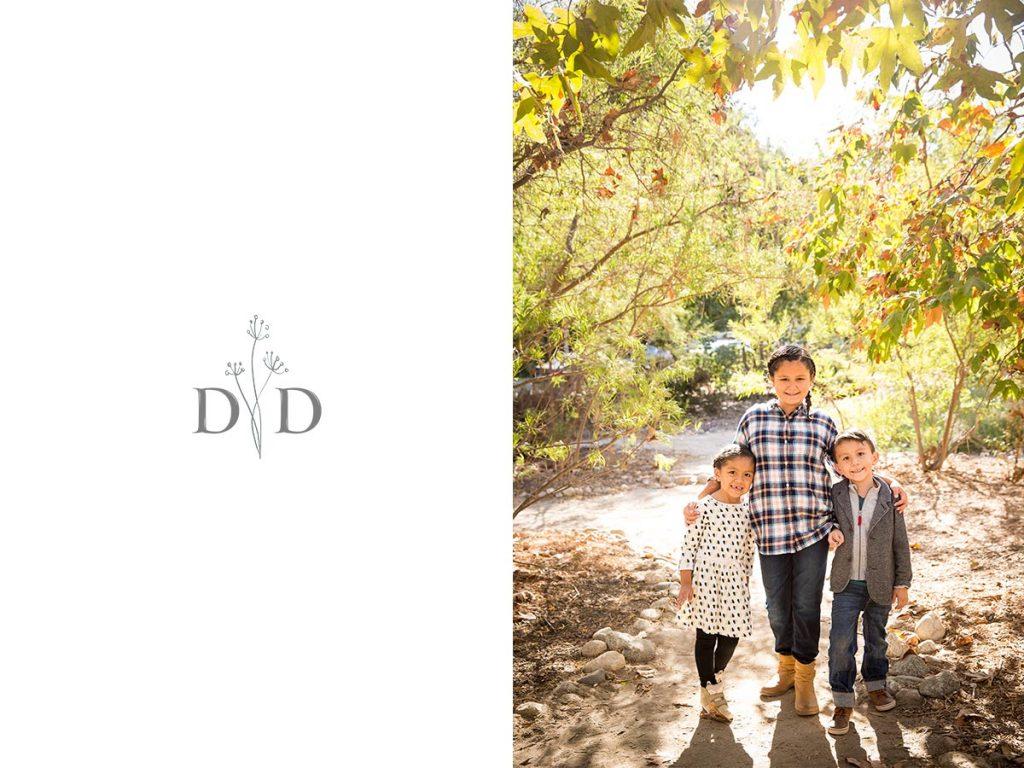 Arlington Garden Pasadena Family Photo