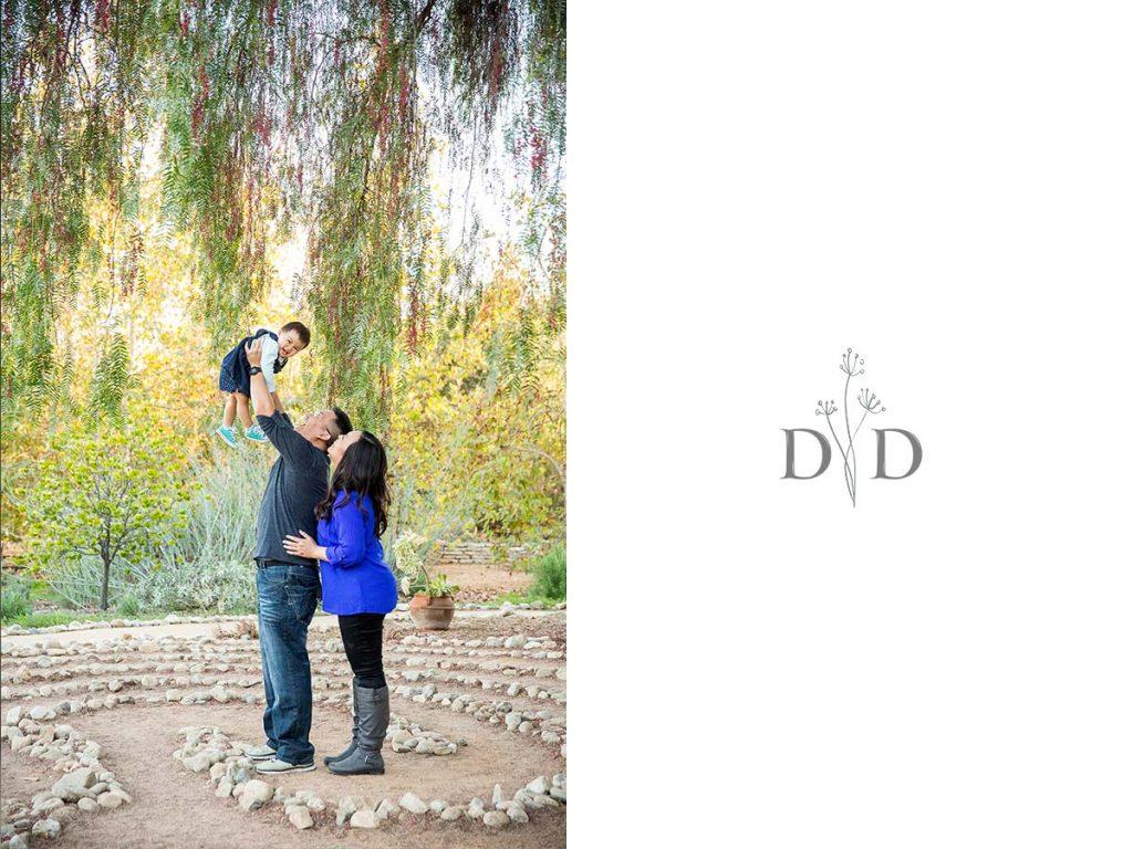 Pasadena Family Photography Arlington Garden