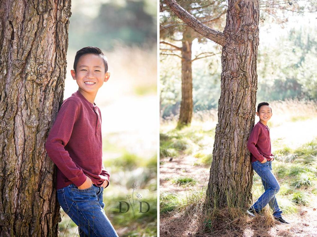 Individual Portrait of Son Family Photo