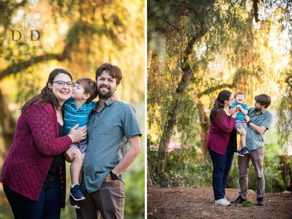 Higginbotham Park Family Photos Claremont