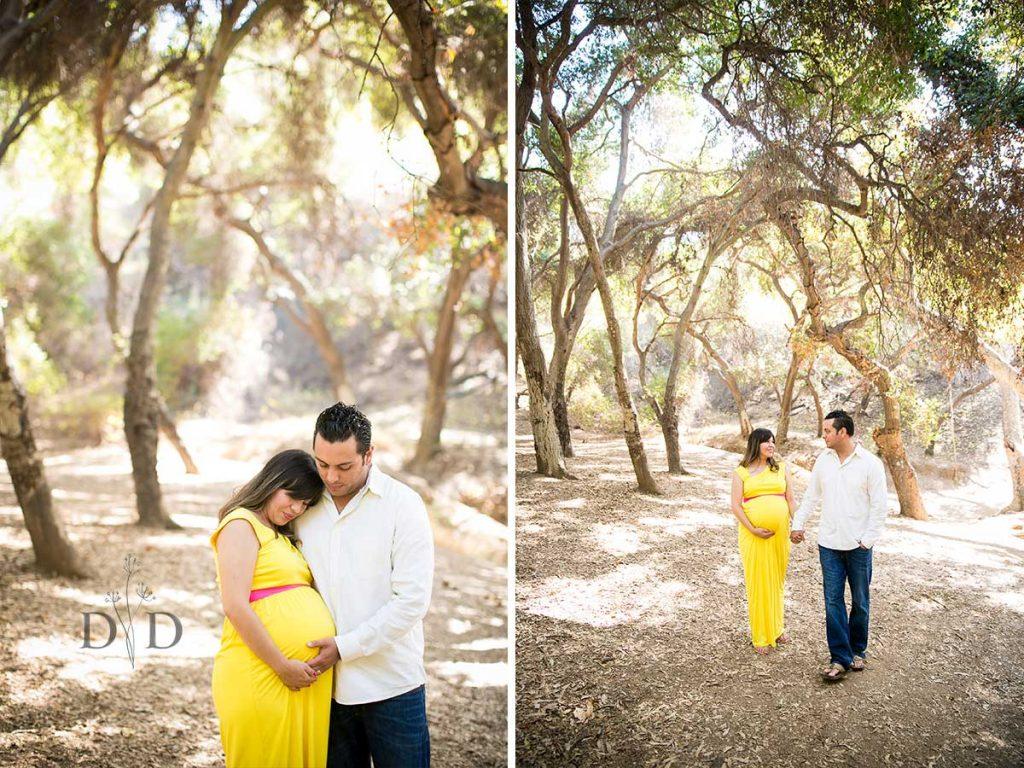 Maternity Photography San Dimas Yellow Dress