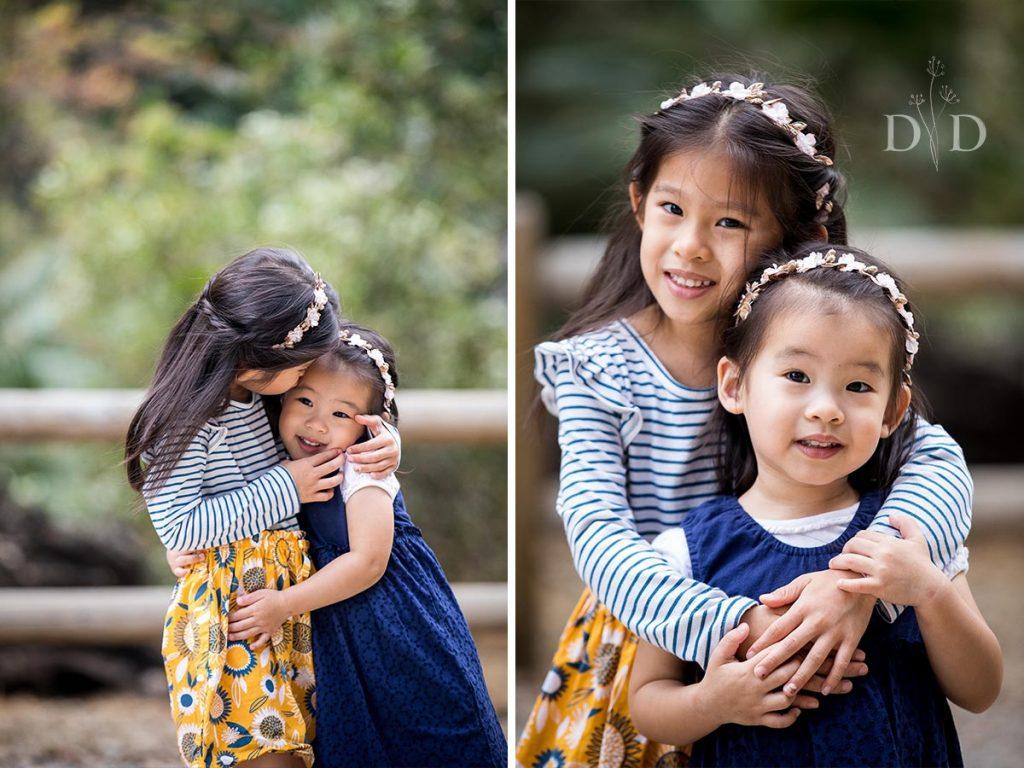 Walnut Creek Family Photos of Sisters