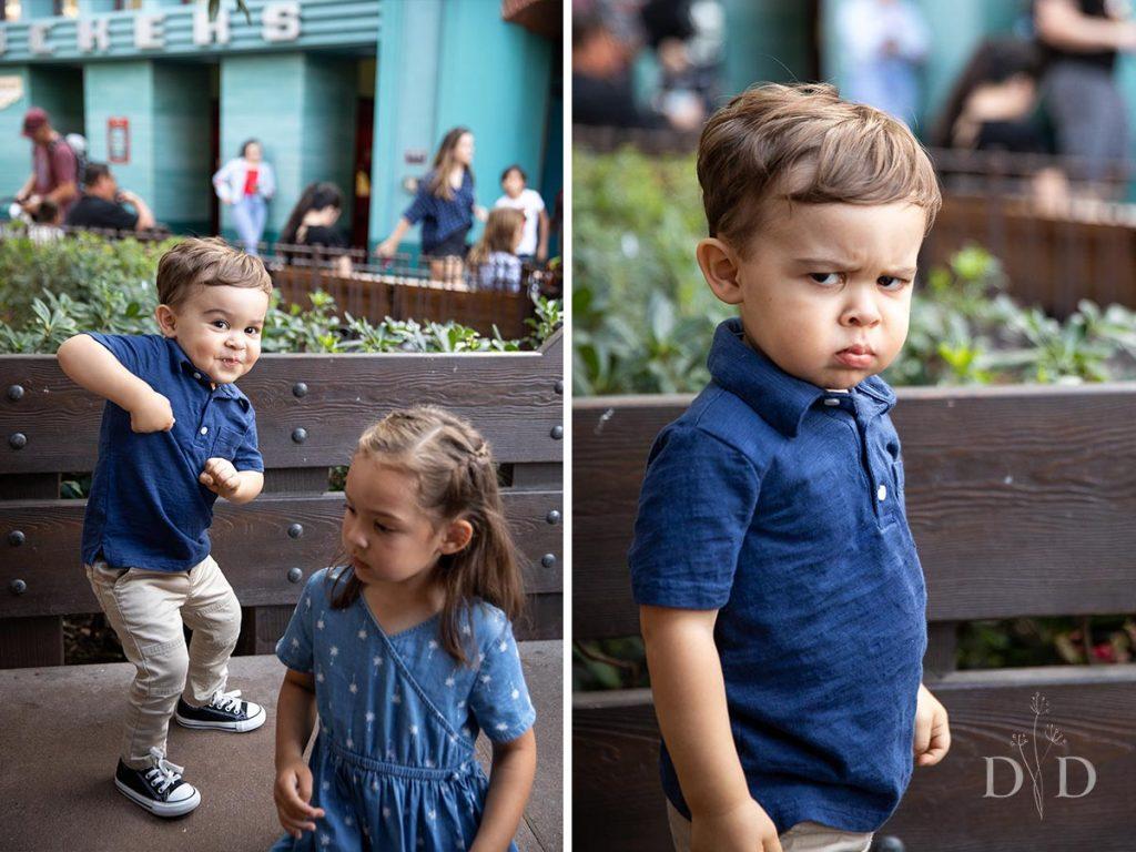 Cute Grumpy Kid