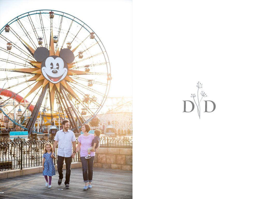 California Adventures Family Photos Ferris Wheel