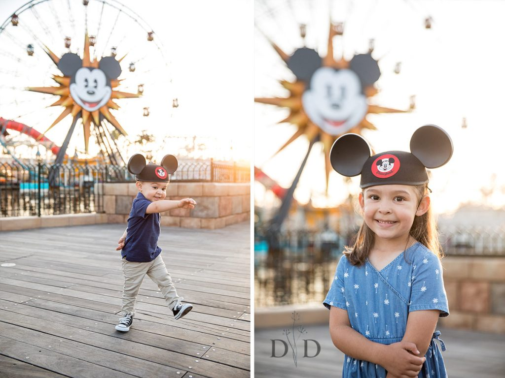 California Adventures Family Photography Ferris Wheel