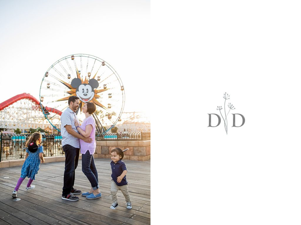 Family Photography at California Adventures