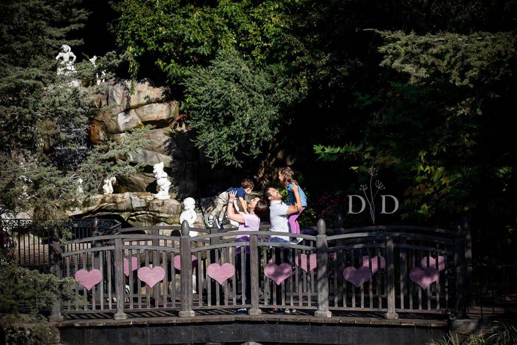 Disneyland Family Photos  Near the Castle