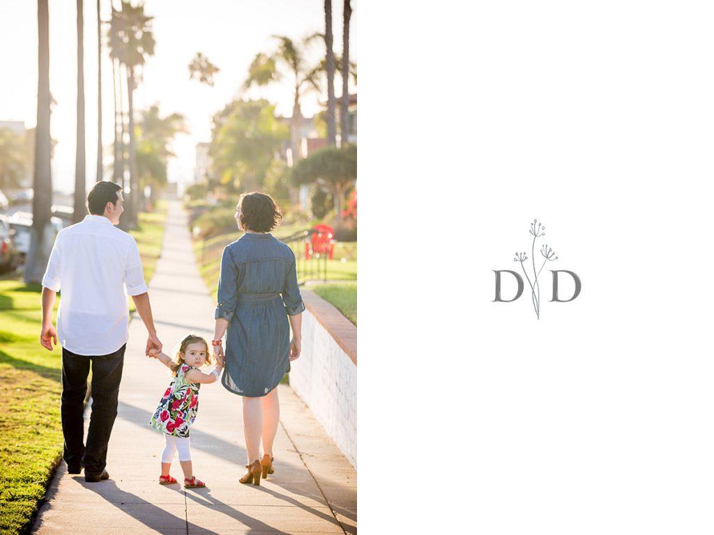 Family Photography Streets of Redondo Beach