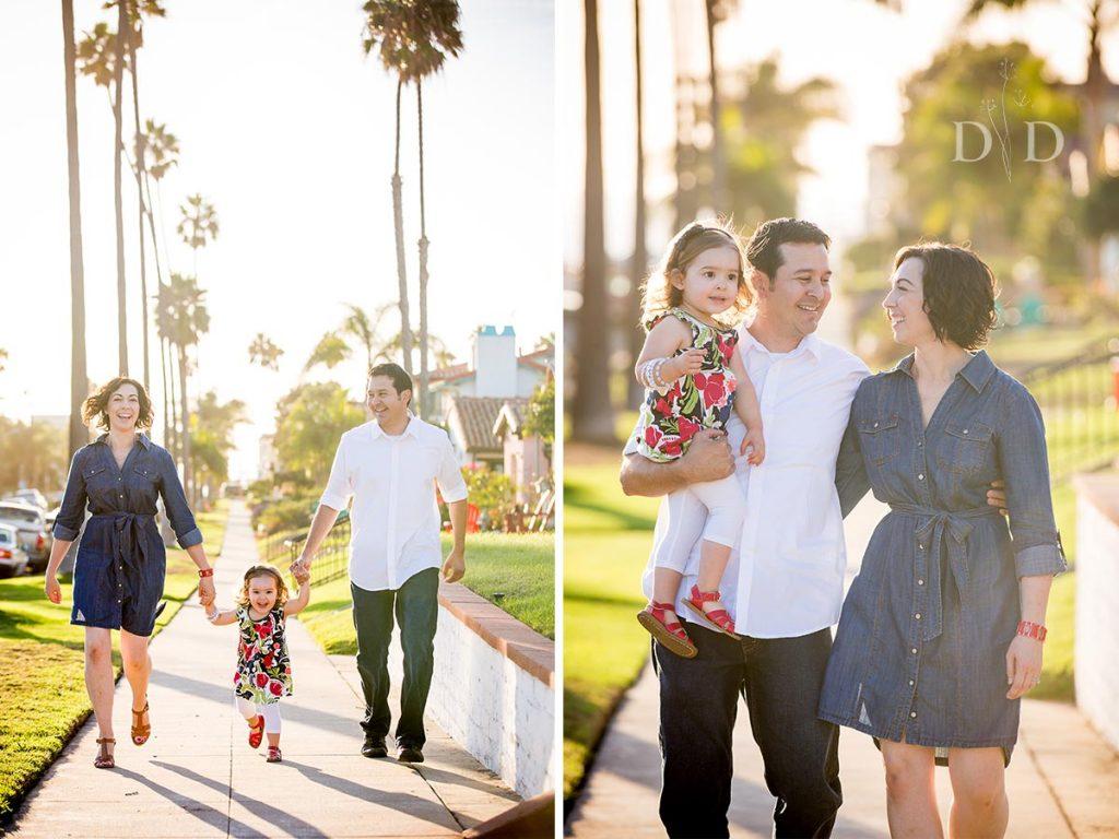 Family Photos Streets of Redondo Beach