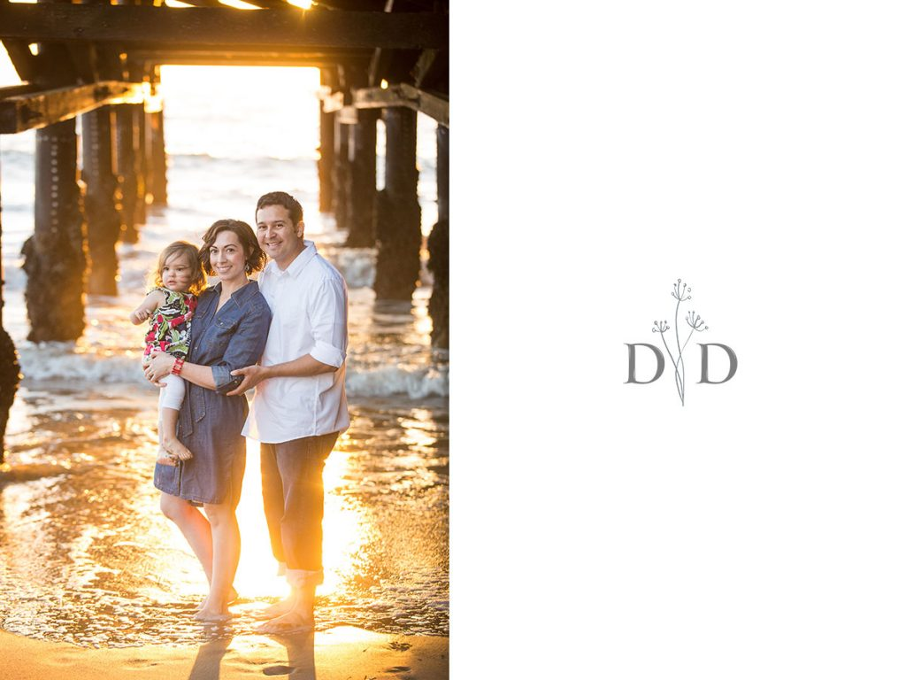 Redondo Beach Pier Family Photography