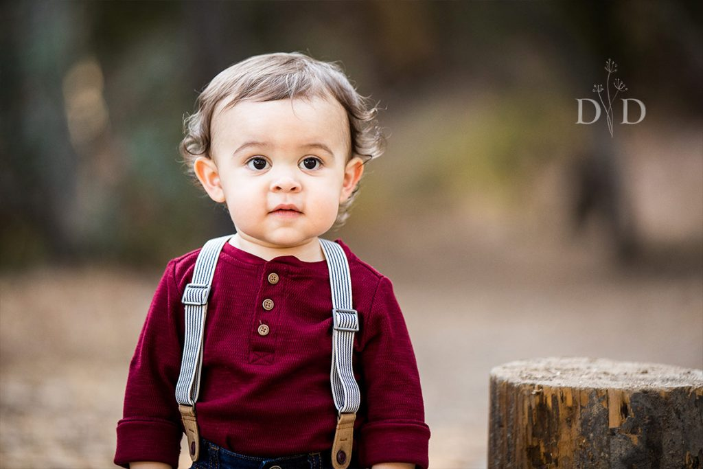 Cute Portrait of Toddler Son