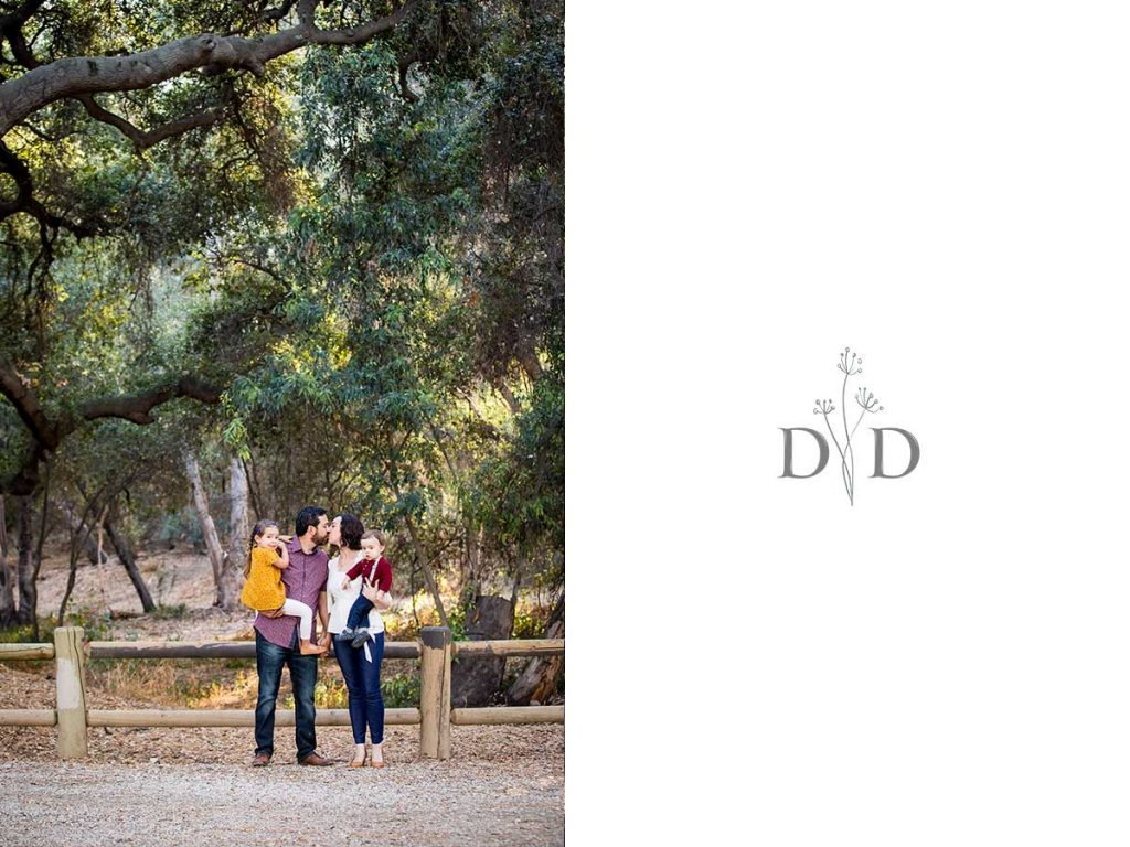 Family Photos in Rustic Park