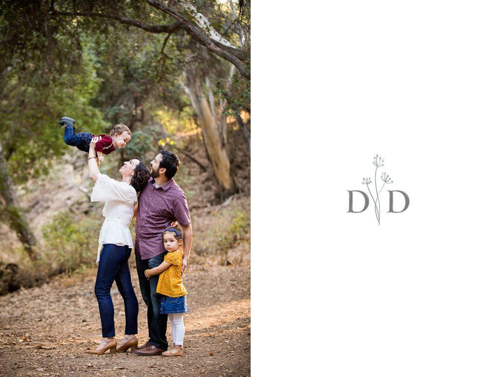 San Dimas Family Photography Walnut Creek Park