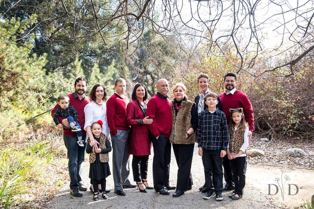 Large Family Photo Claremont