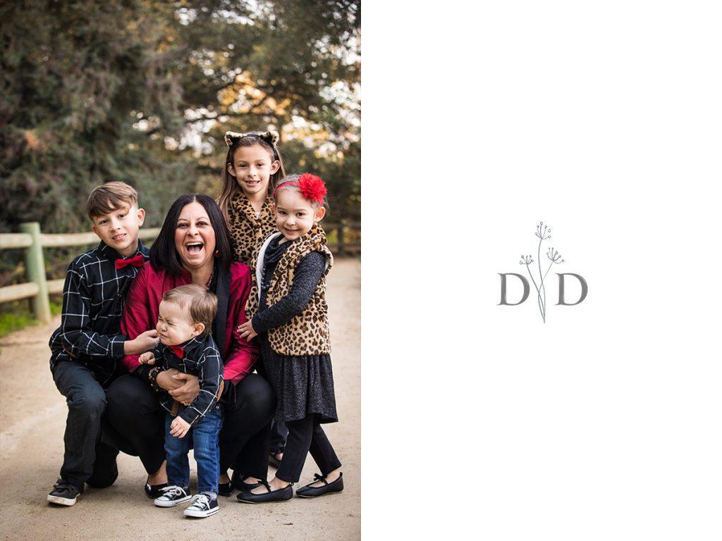 Claremont Family Photography California Botanical Garden