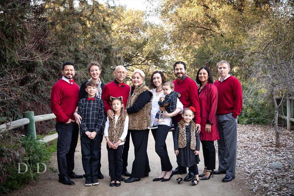 Large Family California Botanical Garden