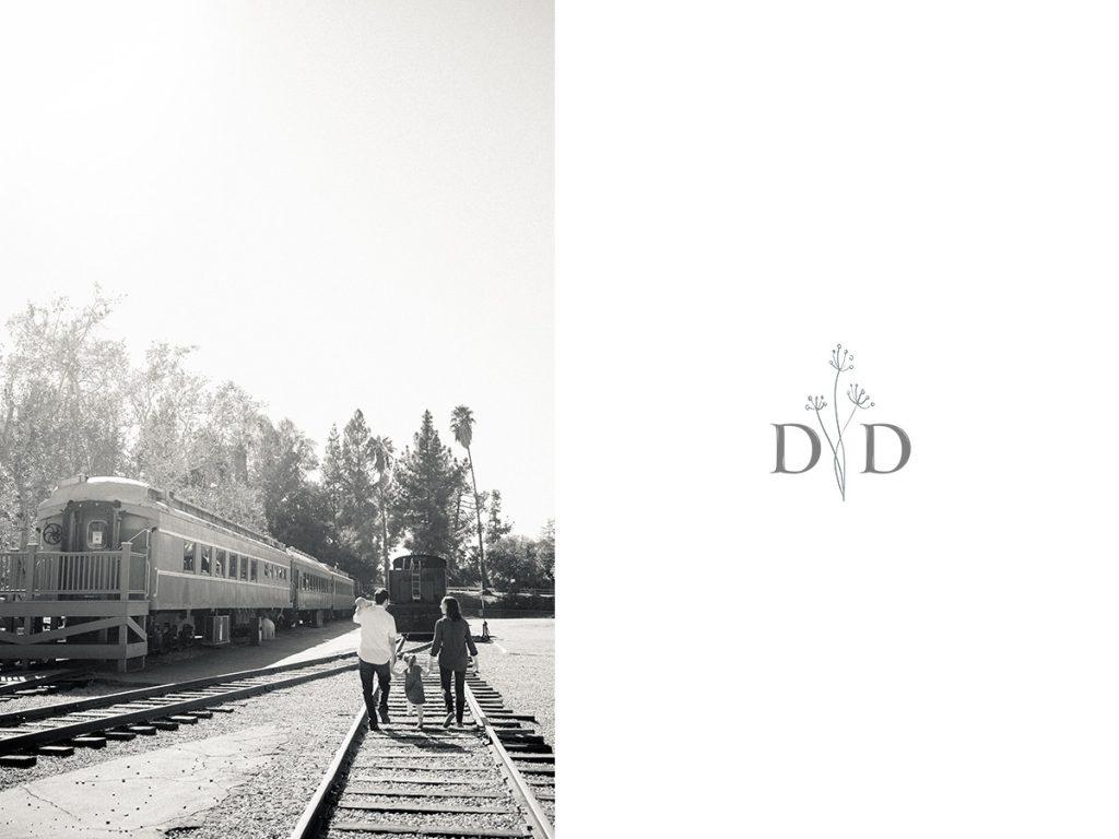 Railroad Tracks Family Photos