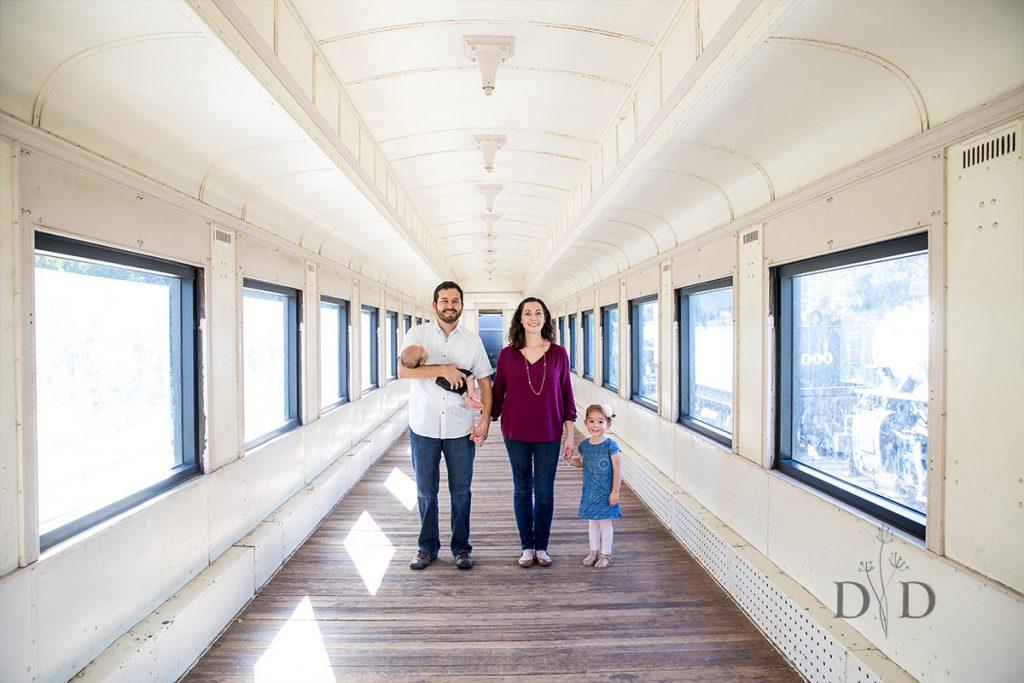 Train Family Photography