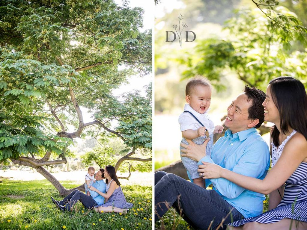 LA Arboretum Family Photography