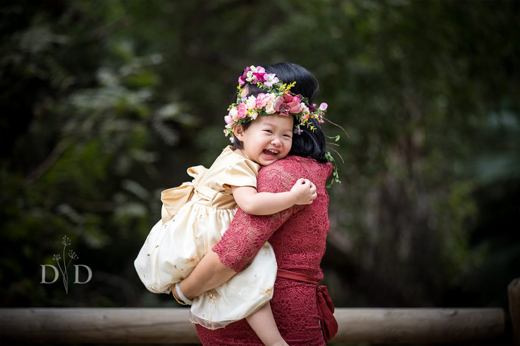 Family Photos with Daughter while Pregnant