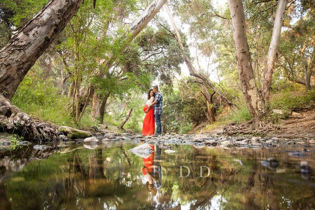 San Dimas Maternity Photos Walnut Creek Park