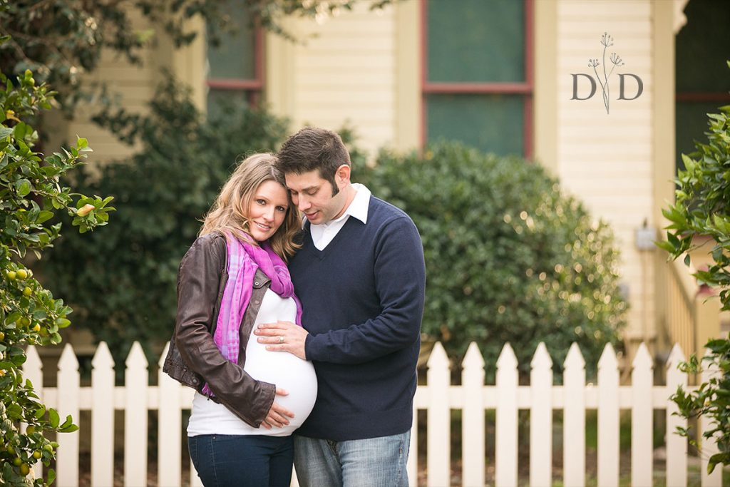 Fullerton Heritage House Maternity Photos