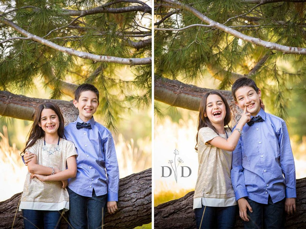 Orange County Family Photography Brother and Sister