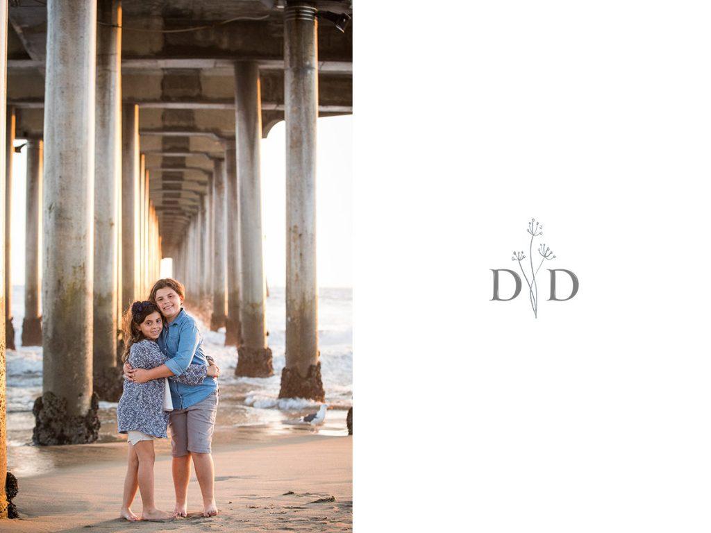 Huntington Beach Pier Family Photos