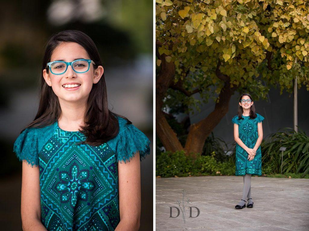 Walt Disney Concert Hall Family Portrait of Daughter