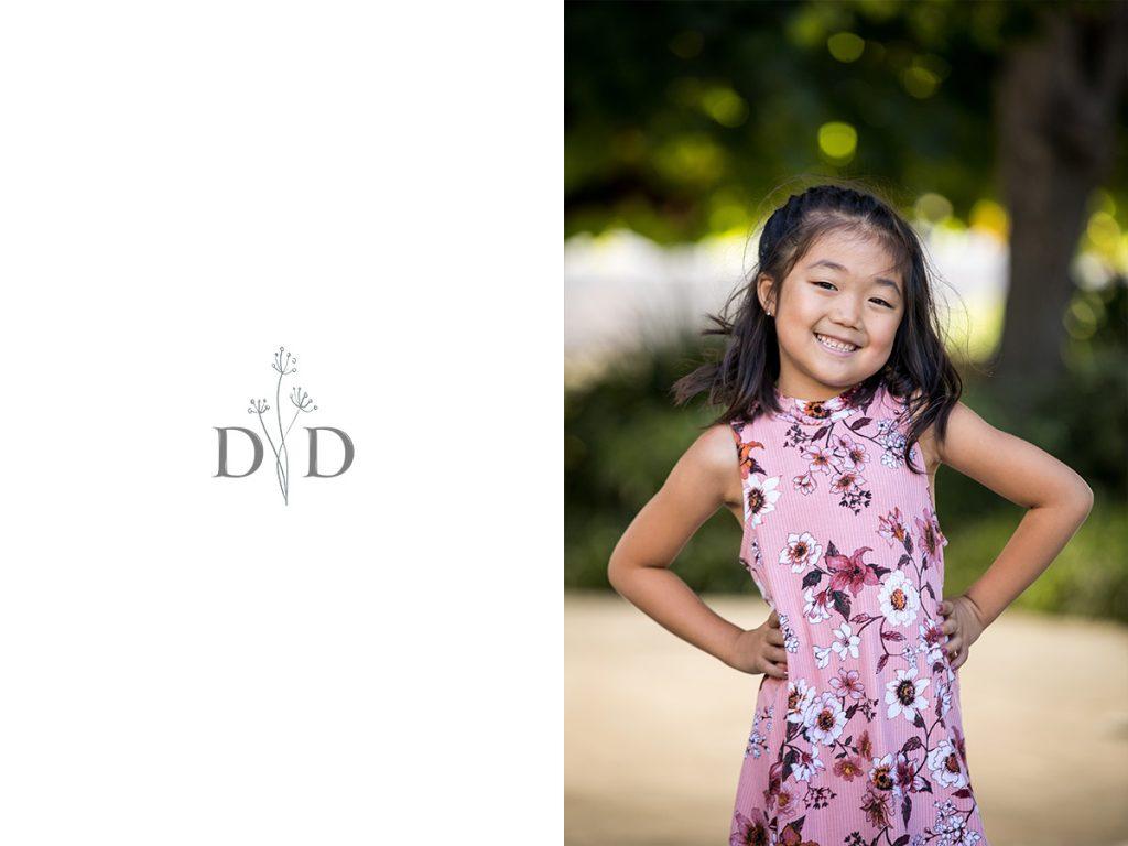Walt Disney Concert Hall Garden Child Portrait