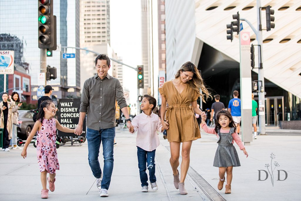 Downtown Los Angeles Family Photos