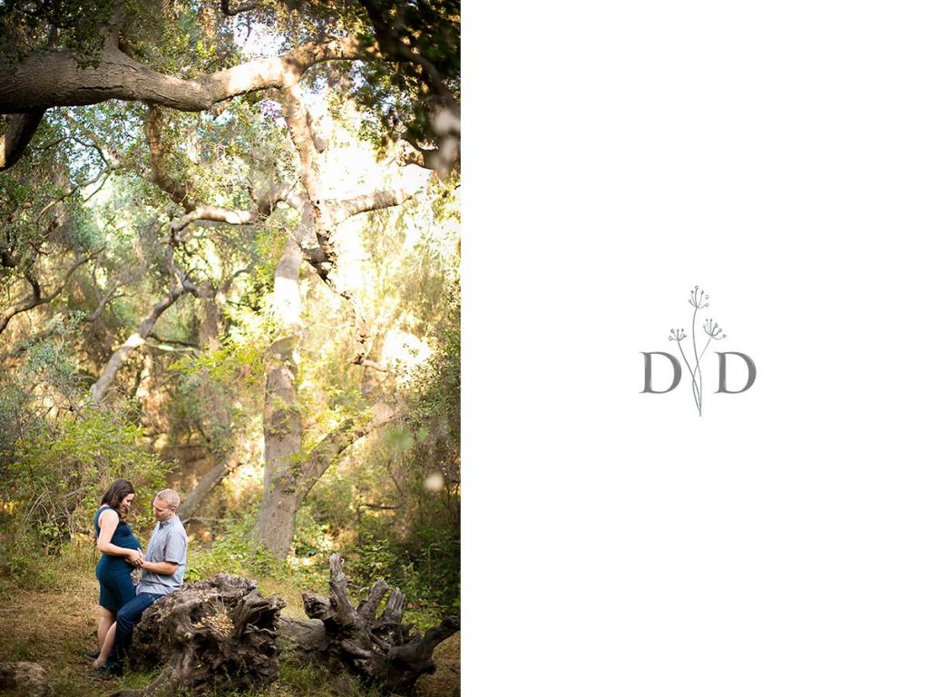 Forest Maternity Photography