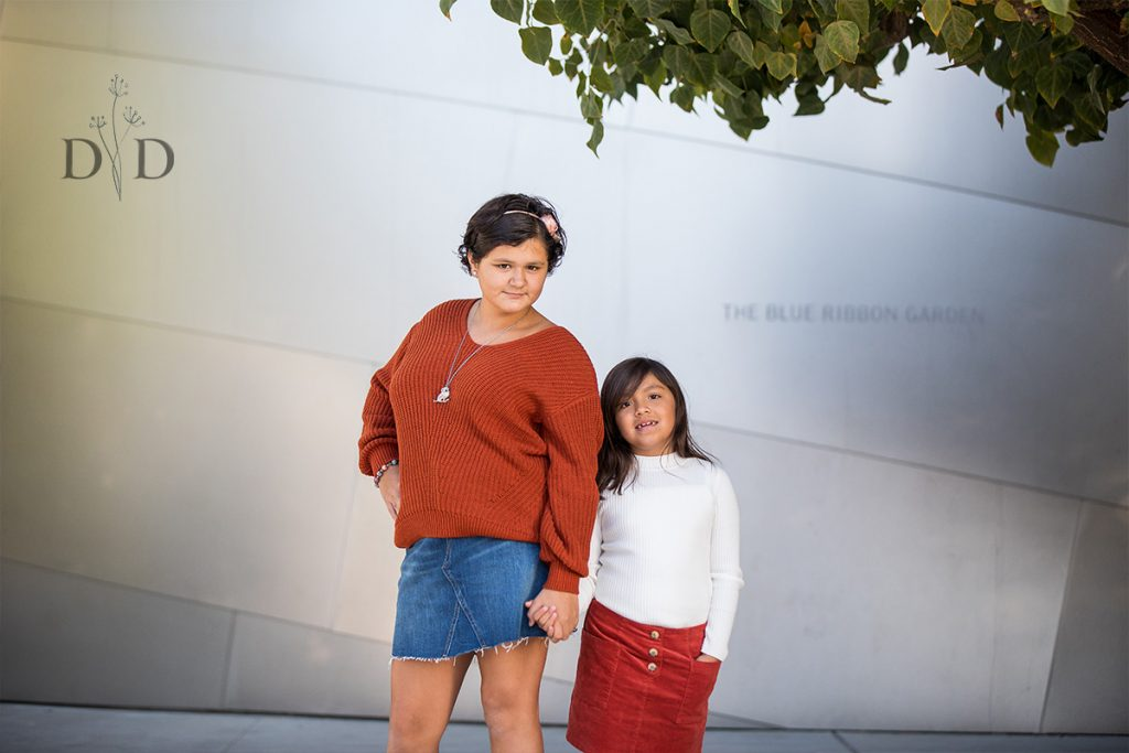 Mom and Daughter Family Photo