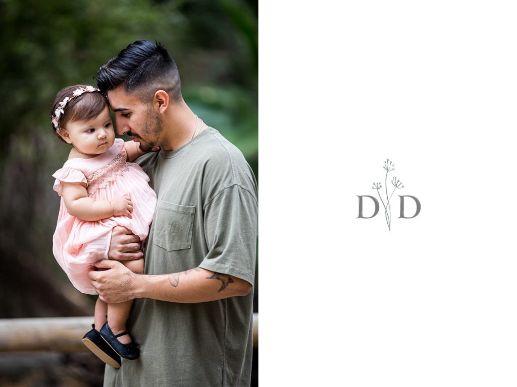 Daddy Daughter Family Portraits
