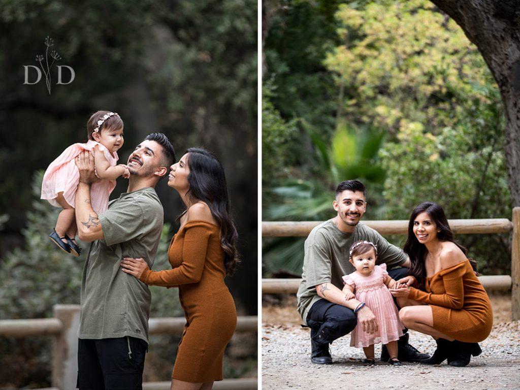 Walnut Creek Park  Family Portraits
