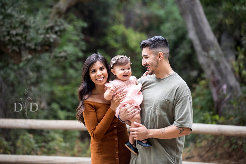 Walnut Creek Family Photos with Daughter