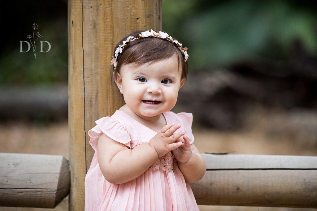 Baby Girl Family Portraits