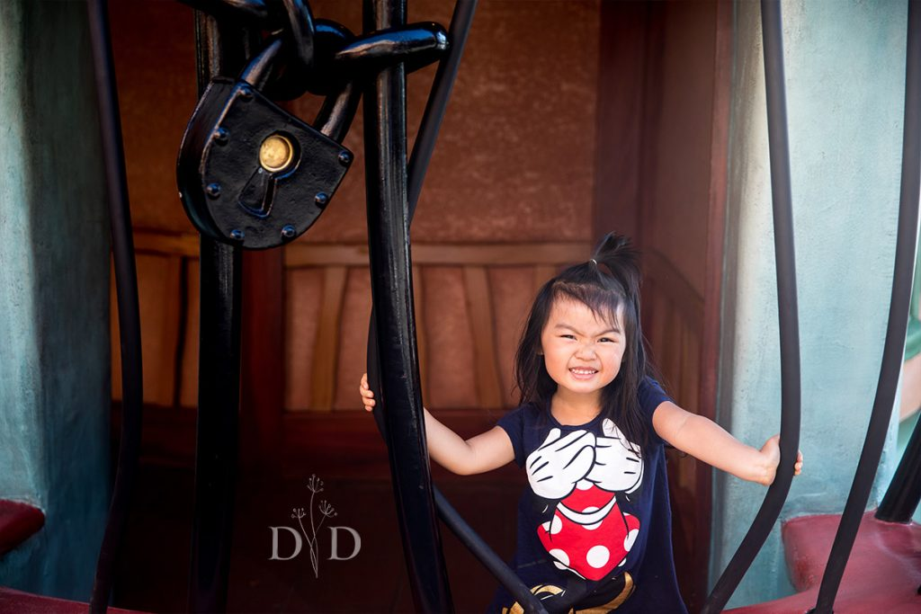 Disneyland Family Photography Toon Town