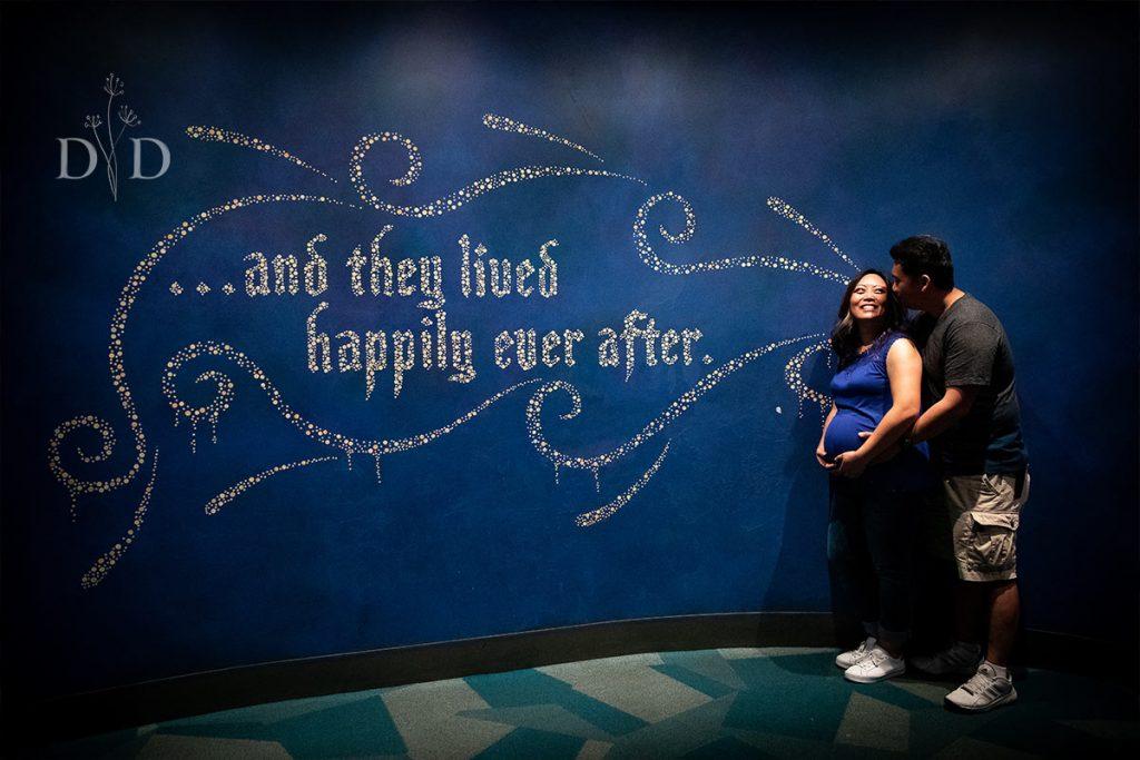 Disneyland Maternity Photos
