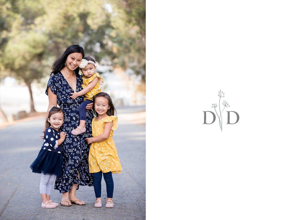 The Girls Family Photo