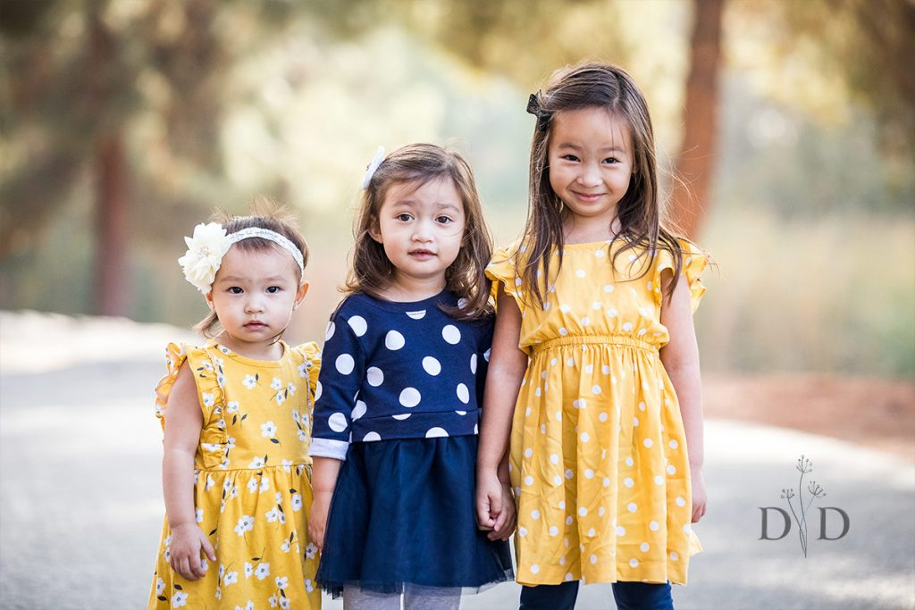 Family Photography of Three Daughters