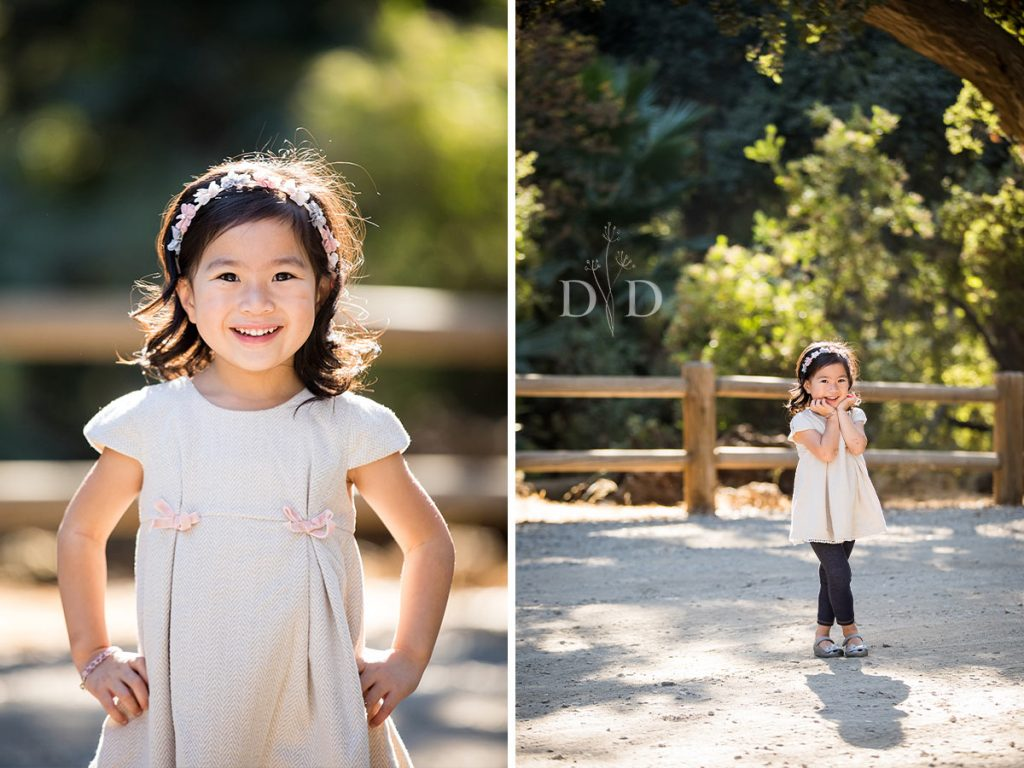 Cute Family Portraits of Daughter