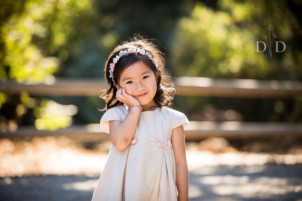 Cute Portrait of Little Girl