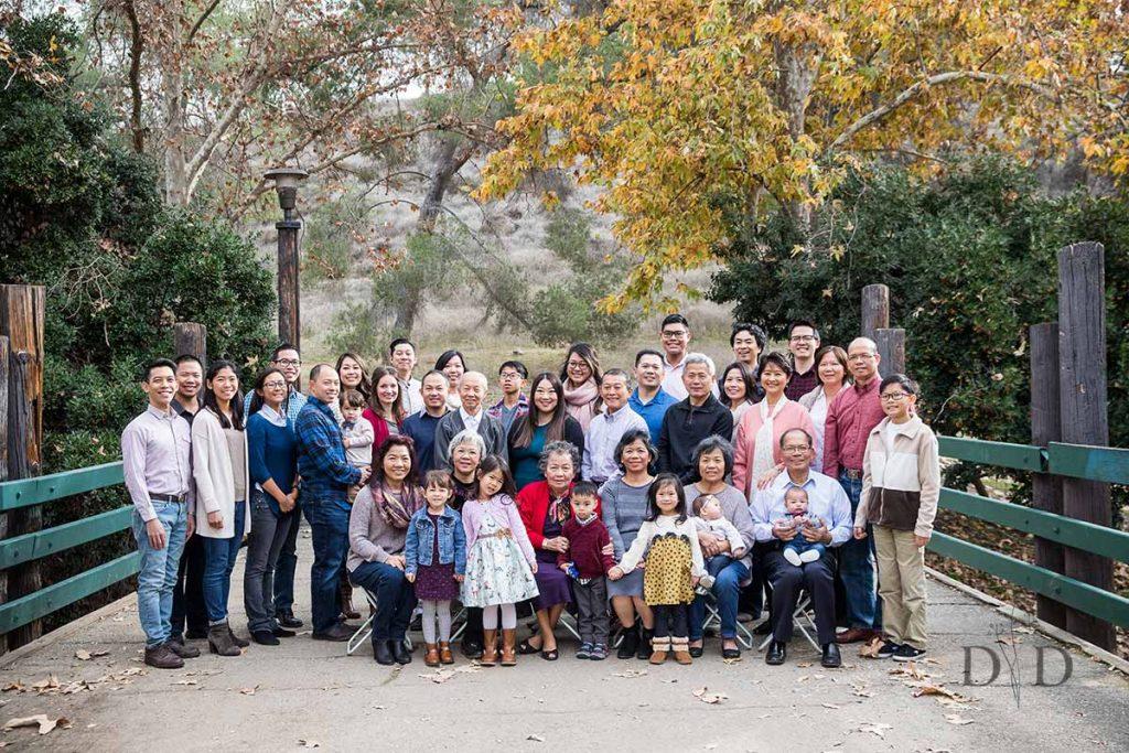 Large Asian Family Photo
