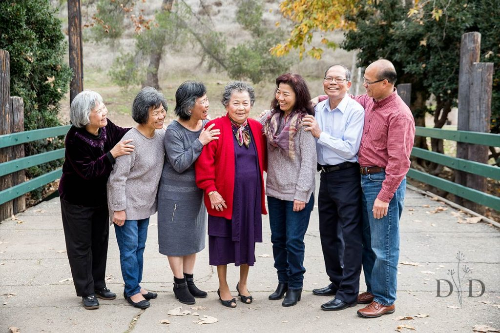 Older Generations Family Photo