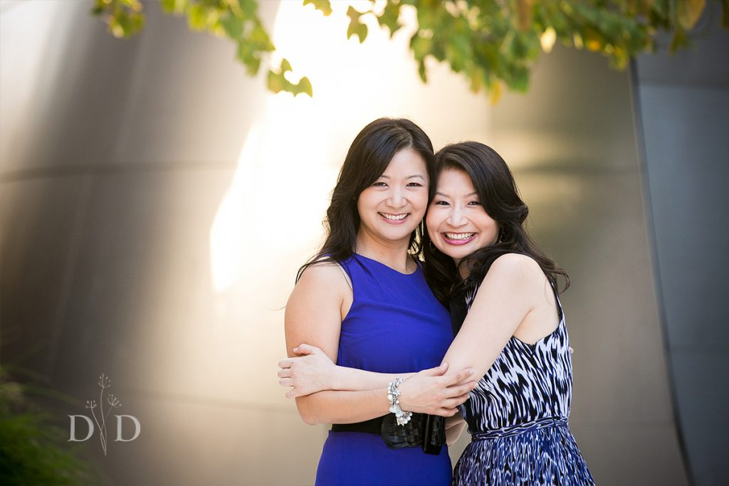 Sisters Portrait Downtown Los Angeles