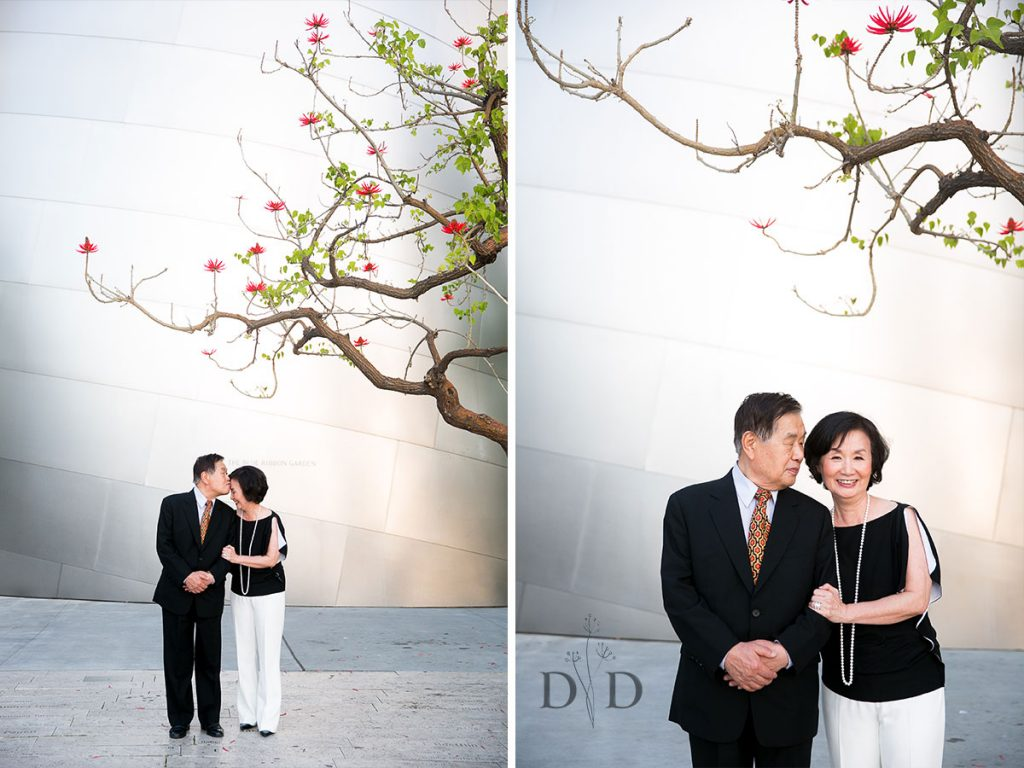 Walt Disney Concert Hall Family Photo of Parents