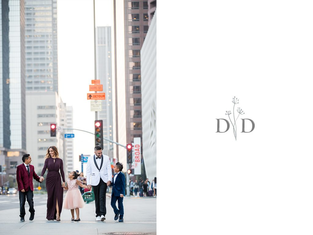 Downtown Los Angeles Family Photography
