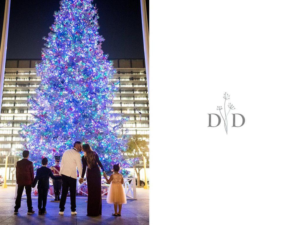 Christmas Tree Family Photos